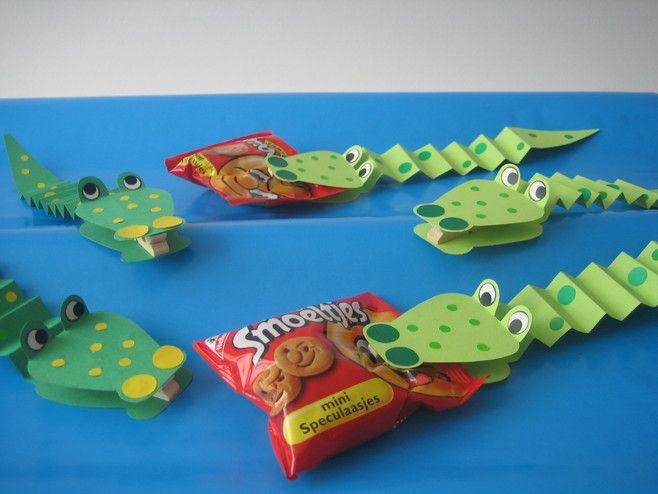 Traktatie krokodil