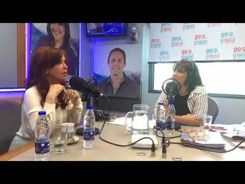 11/10/2017 Cristina Kirchner con la Negra Vernaci (Entrevista completa) - YouTube