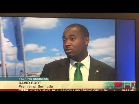"""Bermuda Premier, David Burt, appeared on BBC World News Talking Business  programme on 13 October 2017 to discuss allegations about the island's tax structure. During the interview, Mr Burt emphasised that the island complies with global standards. Mr Burt noted: """"Bermuda's ratings from the OECD [Organisation for Economic Co-operation and Development] on transparency are equivalent to that of the United Kingdom and Germany. We will continue ..to ensure that Bermuda is on the latest…"""