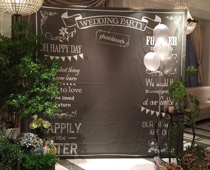 国内注文可能:フォトブースパネル(黒板風)【レンタル商品】 | Planner's Select (photo booth)