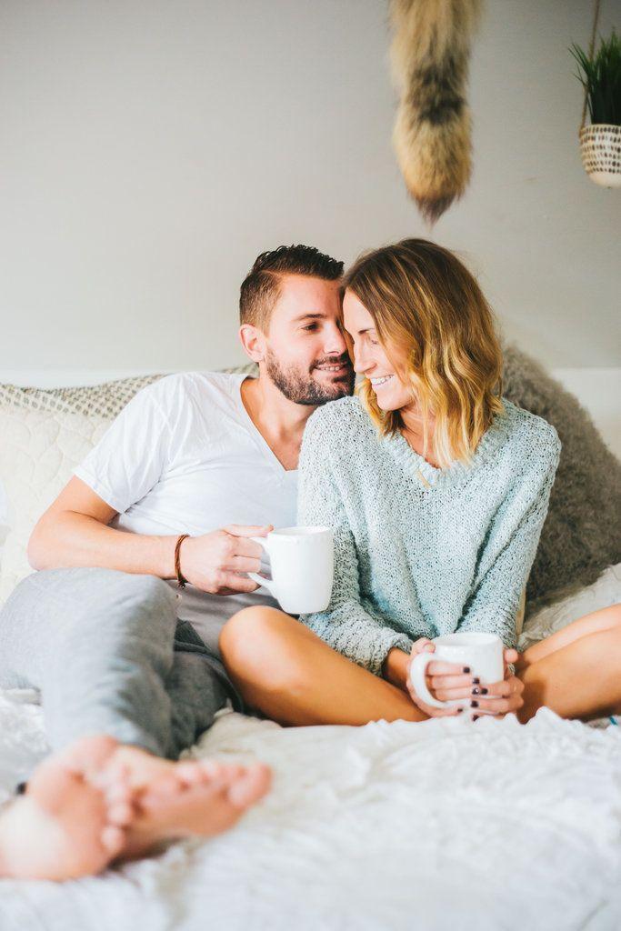 Bedroom Newlywed Photo Shoot | POPSUGAR Love & Sex