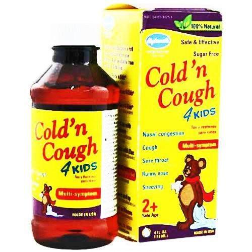 Hylands Cough and Cold Medicine 4 Kids 4 oz