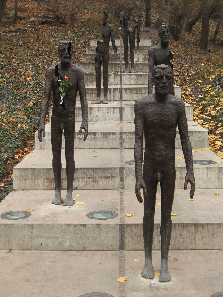 """Memorial to the Victims of Communism - Prague The bronze plaque nearby reads: """"The memorial to the victims of communism is dedicated to all victims not only those who were jailed or executed but also those whose lives were ruined by totalitarian despotism"""""""