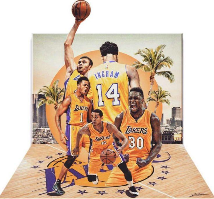 New Era! *Jordan Clarkson, Brandon Ingram, D'Angelo Russell, Larry Nance Jr, and Julius Randle*