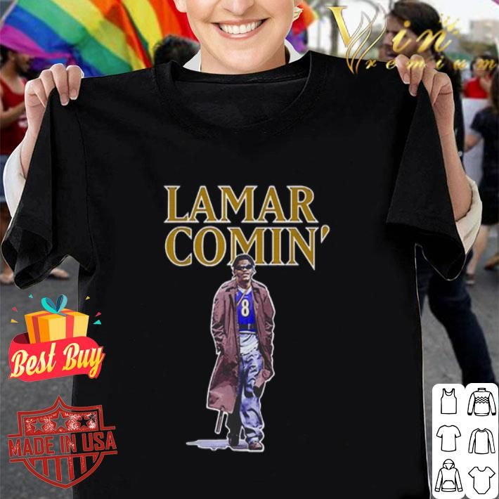 Lamar Jackson Lamar Comin Shirt In 2020 Lamar Jackson Boxing Day Uk Shirts
