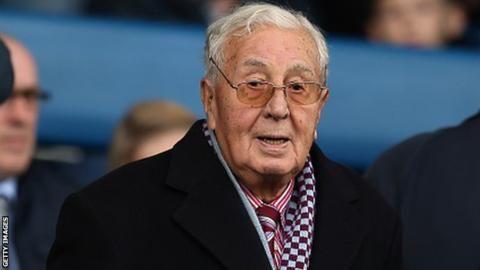 Randy Lerner: Sir Doug Ellis says Aston Villa owner is a 'good man'