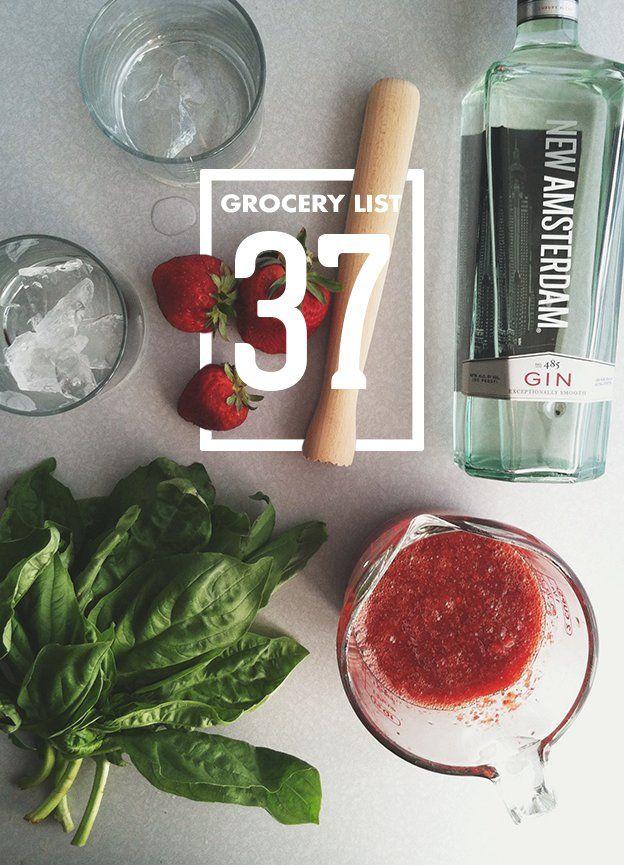 Grocery List 37 // Wit & Vinegar