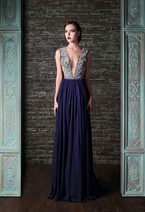 Este vestido de #dama de Rami Kadi 2014 es monísimo! / This Rami Kadi #bridesmaid dress is stunning