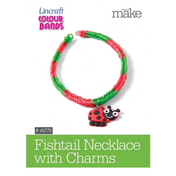 Fishtail Necklace with Charms-