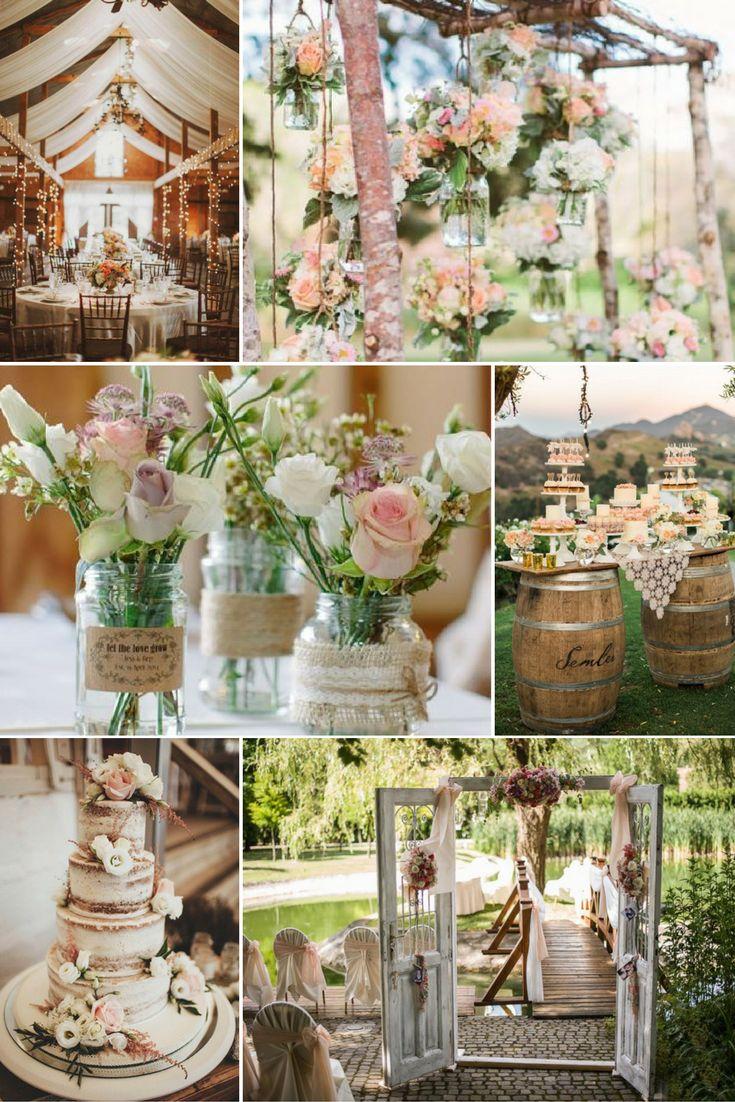 Rusztikus barna és pasztellszínek | Esküvői színek 2017 - 15 trendi színkombinációt mutatunk a tökéletes esküvői dekorációhoz. Inspirálódj velünk!