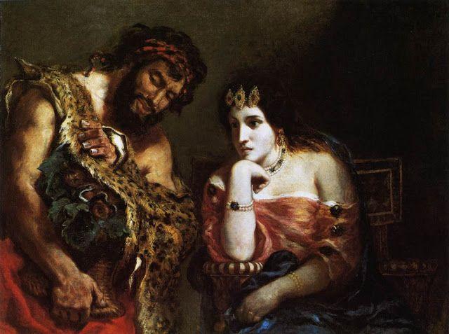 Κλεοπάτρα και αγρότης (1838)