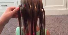 Si vous savez faire des lulus, vous saurez faire cette magnifique coiffure!