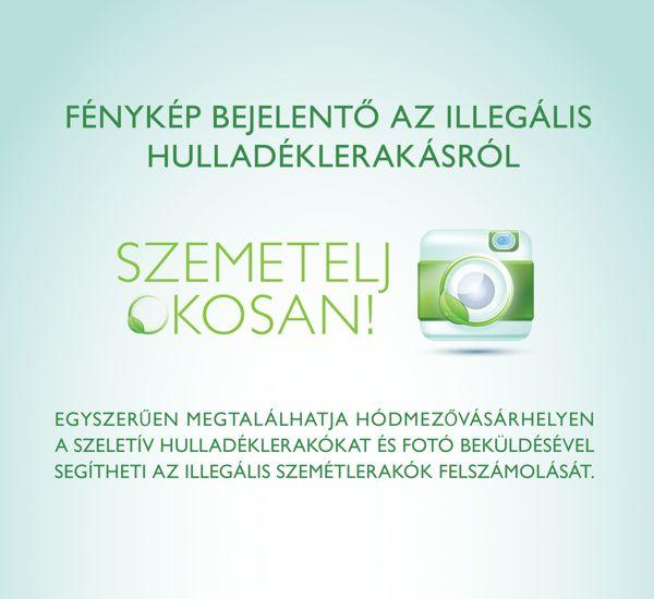 Szemetelj Okosan app by Laszlo Sandor, via Behance