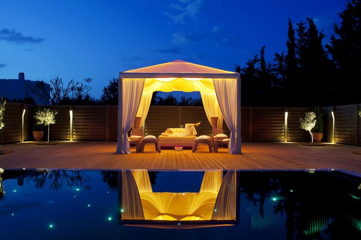The ultimate pampering destination in the Cyclades: The Yria Luxury Resort's Spa pavillion. <3