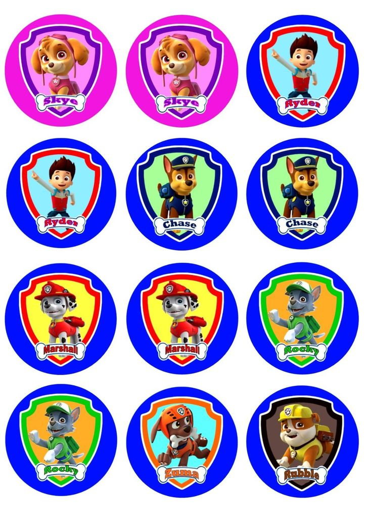 paw-patrol-free-printable-kit-041.jpg (1060×1500)
