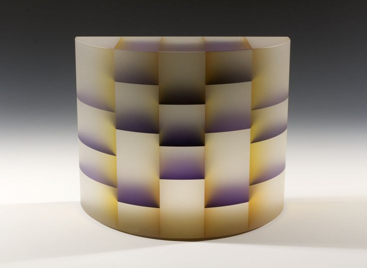 DNA electrophoresis [picture]. | Corning Museum of Glass Artist- Lee, Jiyong