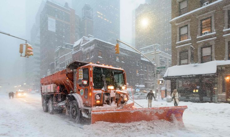 Blizzard and hurricane winds kill 19 people in northeastern US states | US news | The Guardian