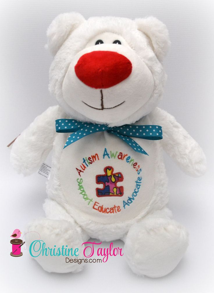 Autism Awareness White Bear