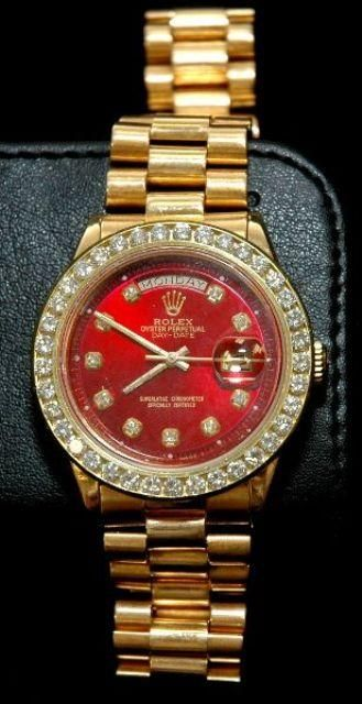 Latest New Arrival Gold Watches 2014 For Men By Rolex (1)