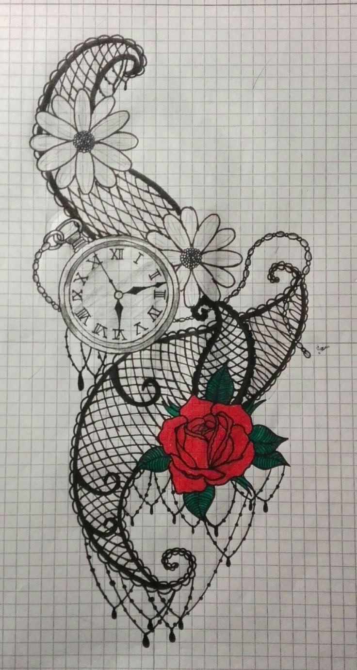 Rose hour flower chain