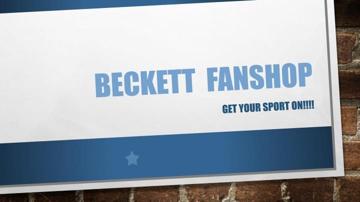 Checkout the latest Merchandise, Autographed Memorabilia, Rare and Authentic Sports Gears and Clothing, Accessories, Drink ware etc. for all the MLB, NBA, NFL, and NHL Sports Teams available exclusively at Beckett Fan shop.\n
