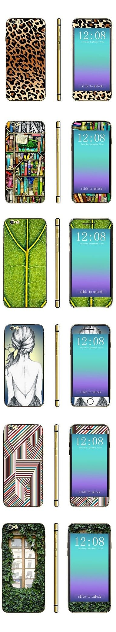 Creative skins for your iPhone 6. They do not make your phone thicker, no glue needed, easy to stick, easy to take off. Explore our collection of cool stickers!