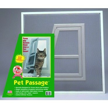 17 Best Images About Pet Doors For Cats On Pinterest