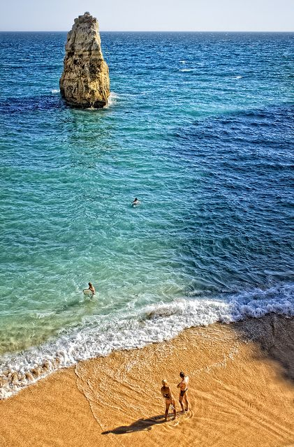 Praia Marinha, Lagoa, Algarve, Portugal >>> This picture makes me want to go swimming now!