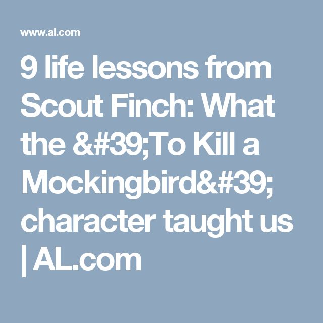 Atticus Finch Life Lessons Quotes: Best 20+ To Kill A Mockingbird Ideas On Pinterest