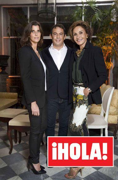 Rosario Nadal y Naty Abascal en la espectacular fiesta del magnate y mecenas Eugenio López en México