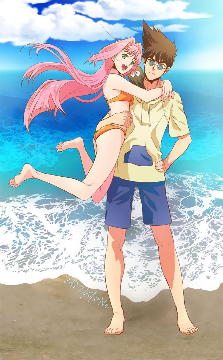 Macross 7, Mylene + Basara, by Kutsuno Basara, Anime
