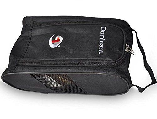 UK Golf Gear - Sports Black Shoes case Accessories Golf Shoe Bag Nylon Quality