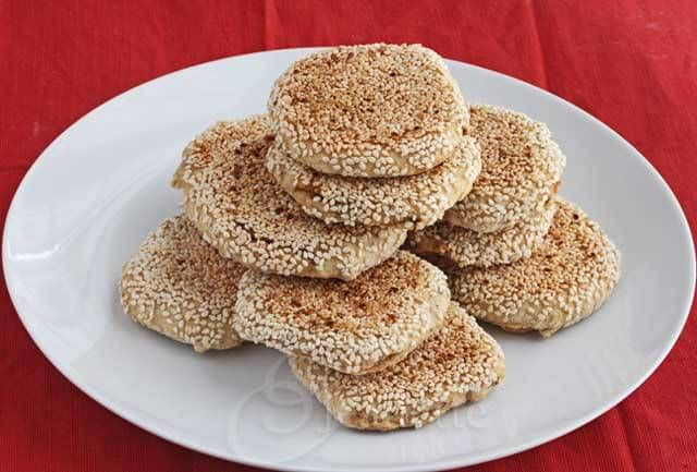 """My Mom's Beijing Biscuit """"Shao Bing""""  Recipe (北京燒餅) – An Heirloom Recipe ~ http://jeanetteshealthyliving.com"""