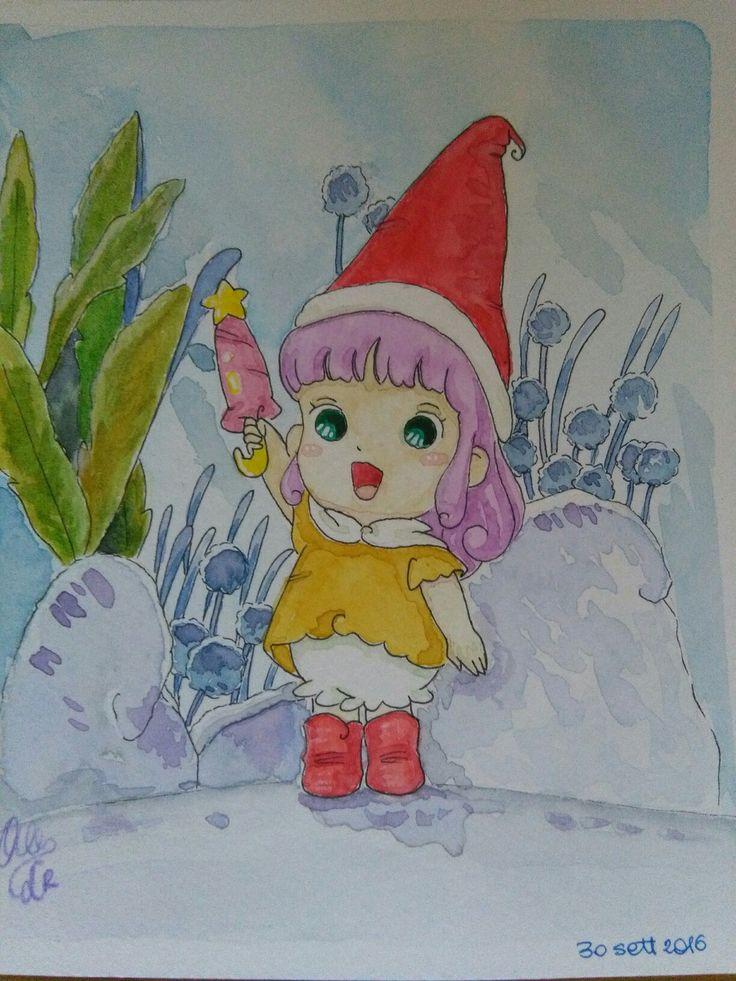 Memole watercolors