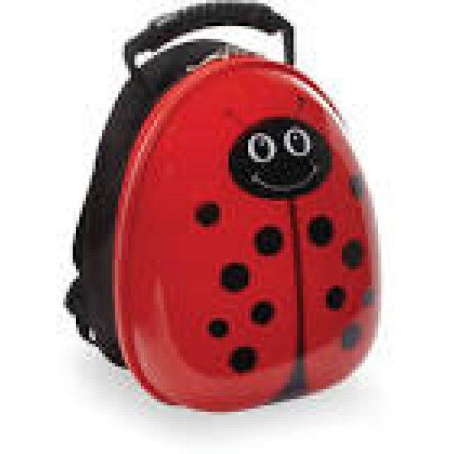 Travel Buddies Ryggsäck, Lola Ladybug fra Gobaby. Om denne nettbutikken: http://nettbutikknytt.no/gobaby/