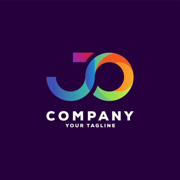 Awesome Letter Gradient Logo Design