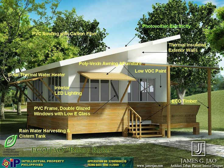 54 best images about modern bahay kubo on pinterest new for Eco friendly house designs in the philippines