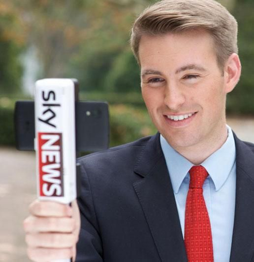 TV news will soon come to you from a selfie stick