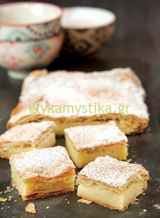 Μπουγάτσα. I'm baking it tomorrow as my birthday cake!!!