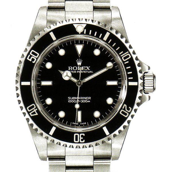 La Cote des Montres : Prix du neuf et tarif de la montre Rolex - Collection Professionnels - Submariner - 14060M