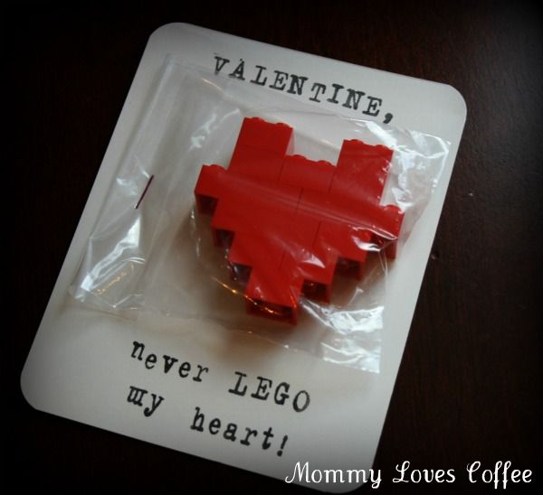 lego valentine card