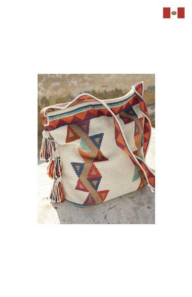 Peruvian Connection- Mazan Tote. Pima Cotton. Made in Peru.