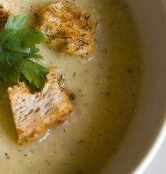 Foghagyma-krémleves - Garlic cream soup #főzés #ebéd #leves #soup #cooking #primaboltok