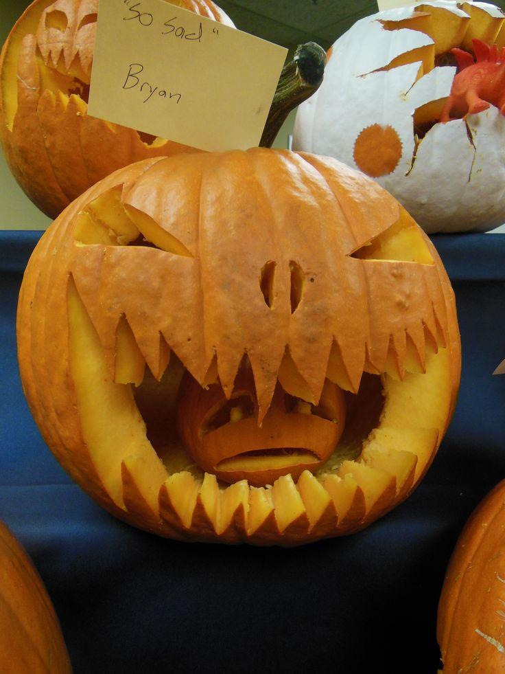 Big Pumpkin Eating a Little Pumpkin | Pumpkin Carving ...