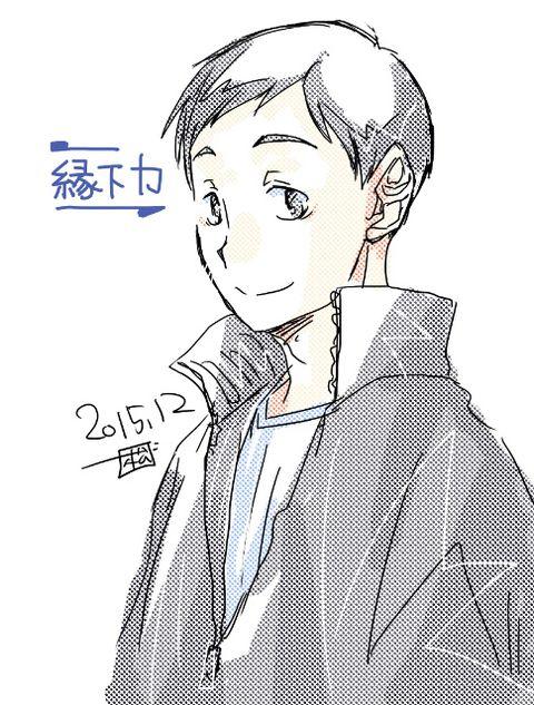 Ennoshita Chikara-- お誕生日おめでとうです。 似てなくてごめん。 もう誕生日絵ですらないし。 描いたの初めてなんで勘弁してね。 時間かけられないのがなんとも・・・・・。