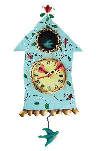 31 best Felt clock images on Pinterest Cuckoo clocks Felt