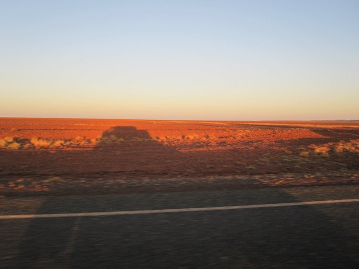 Australian desert... SO RED!