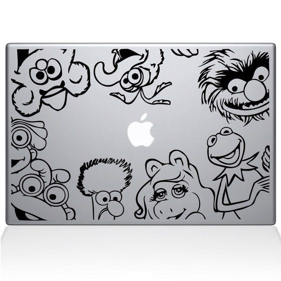 Muppets Macbook Decal Reisemobil Macbook Aufkleber Auto