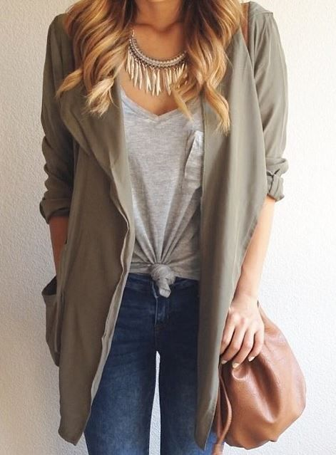 Draped Silky Hooded Anorak Jacket