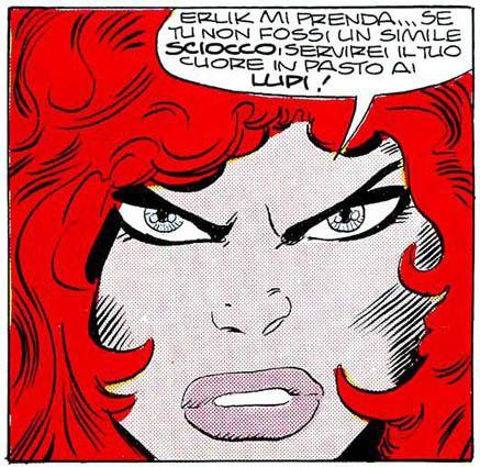 """Red Sonja - """"I giochi di Gita"""" #Marvel #RedSonja #Fantasy"""